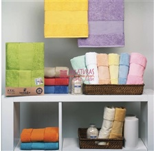 Set of towels bathe to embroider TROVADOR